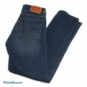 """Levi's 510  Mid Rise Girls' Jeans Size 14R 27x27"""""""